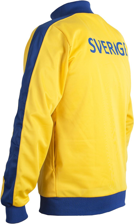 JL Sport Suecia Sverige 1970 De La Chaqueta Retro Nacional Swedese ...