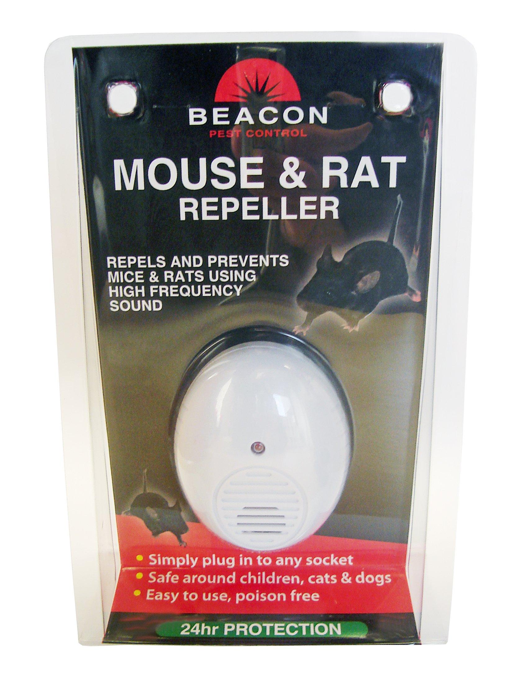 Mouse /& Rat Repeller Dual Action Beacon
