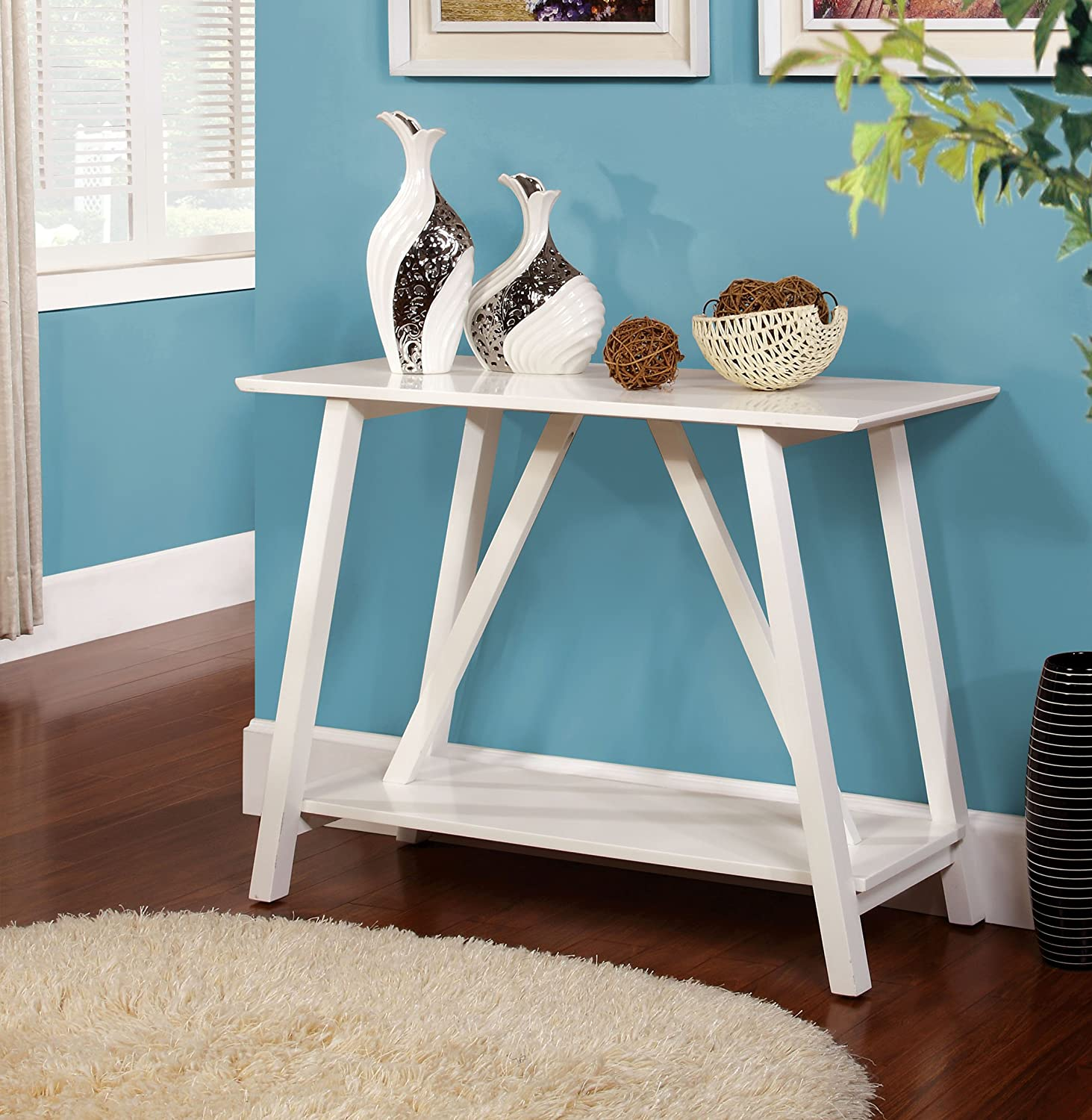 furniture living occasional set console from table room vintage rustic tables