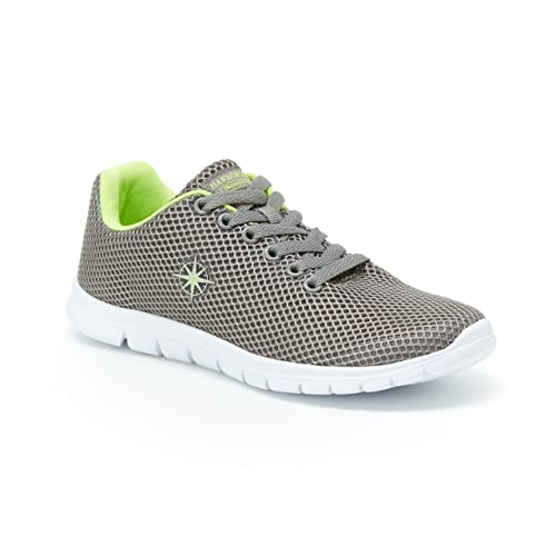 1b4316ce6396f Harborsides Stacie Mesh Sneakers – Comfort Lace-Up Athletic Shoe, Memory  Foam Insole