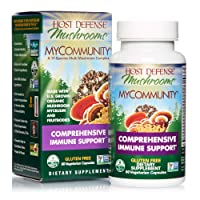 Host Defense, MyCommunity Capsules, Advanced Immune Support, Mushroom Supplement...