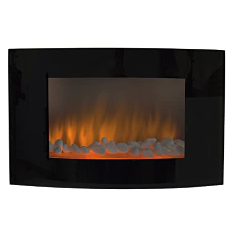 Pleasing Best Choice Products Large 1500W Heat Adjustable Electric Wall Mount Free Standing Fireplace Heater With Glass Xl Home Interior And Landscaping Analalmasignezvosmurscom