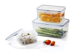 LOCK & LOCK Assorted Food Storage Container Set (6-Piece)