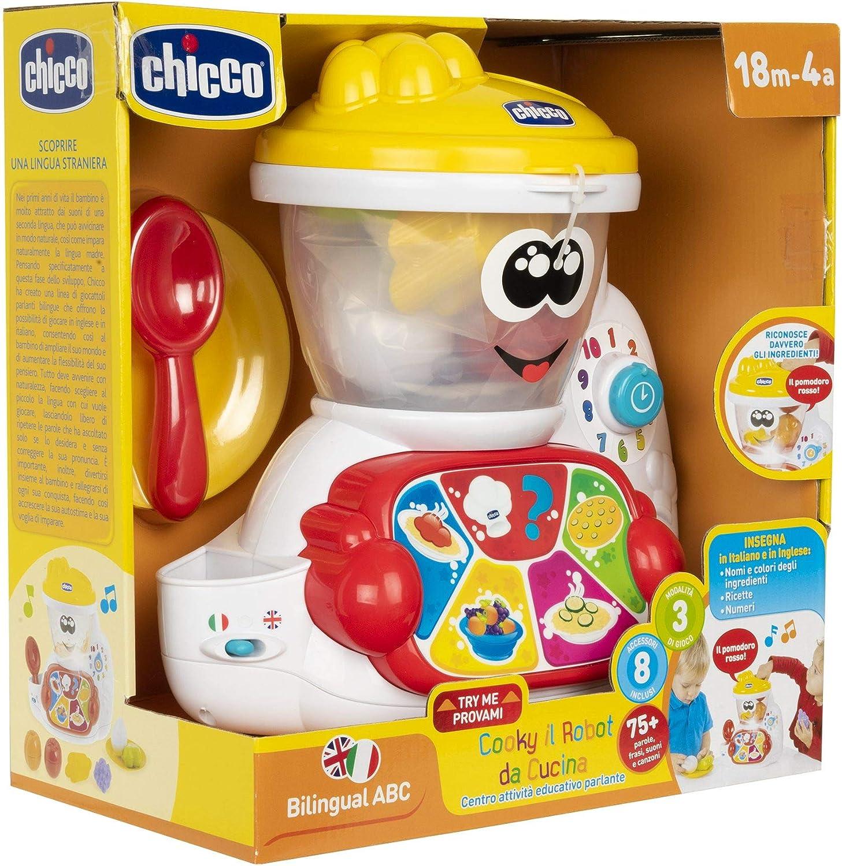 Chicco 00010197000000 Cooky - Robot de Cocina, Color Blanco: Amazon.es: Juguetes y juegos