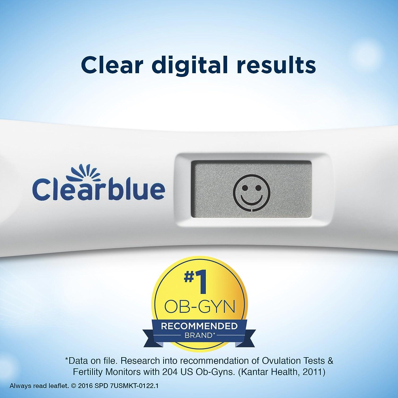 Amazon Clearblue Advanced Digital Ovulation Test 10 Ovulation