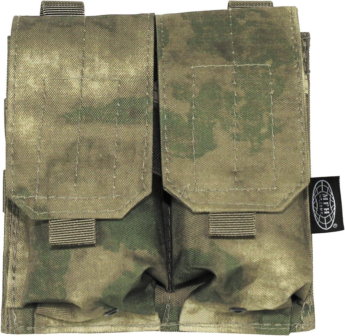MFH Molle doble sistema modular, UBW, 16 x 16 cm Funda para cargadores varios colores