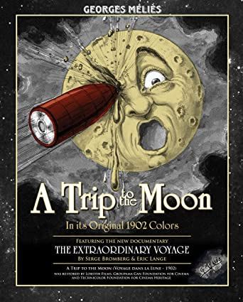 Image result for a trip to the moon dvd