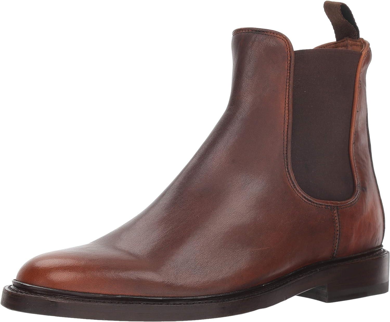 FRYE Men's Jones Chelsea Boot, Cognac
