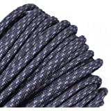BoredParacord Over 300 Colors 1', 10', 25', 50', 100' Hanks & 250', 1000' Spools of Parachute 550 Cord Type III 7 Strand Paracord