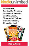 Book Bundle Package:  Survival 101+ Survival for Newbies + Survival on A Budget + Zombie Attack + Womens Self Defense + Natural Medicine + Urban Survival (Bull City Publishing Book Bundles 27)