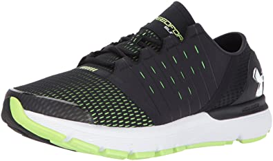 Under Armour Men's Speedform Europa 2E, Black (003)/Quirky Lime, ...