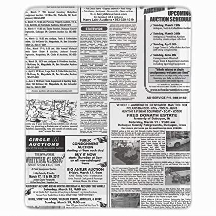 Amazon.com : Times News Paper Mouse Pad Non-Slip Mouse Mat ...