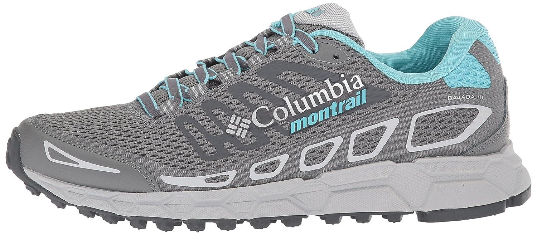 Columbia Montrail Women's Bajada III Trail Running Shoe Grey B072WJBTMG 6 B(M) US|Ti Grey Shoe Steel, Coastal Blue 5e3ca4