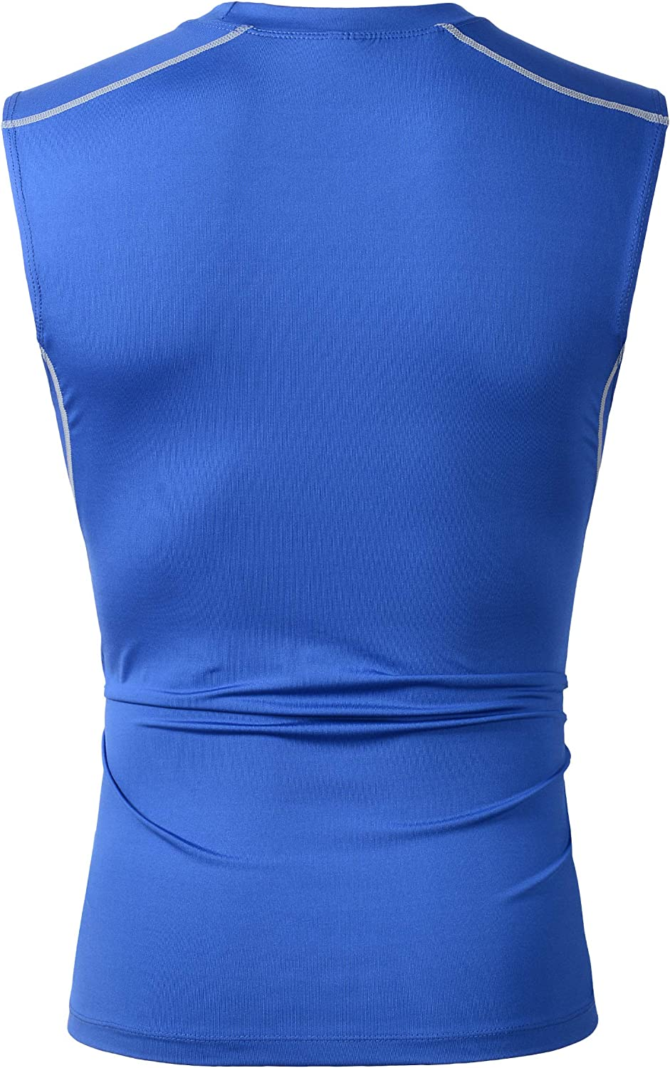 Beninos Mens 2 Pack Athletic Compression Under Base Layer Sport Tank Top