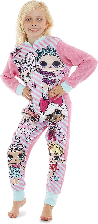 LOL Surprise! Pijama Entero para Niñas con Muñecas LOL Confetti Pop Unicornio y Diva, Disfraz Unicornio Niña, Pijamas Enteros LOL Sorpresa Ropa Niña ...