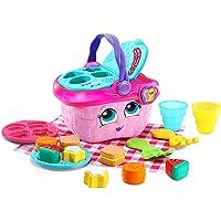 LeapFrog 603603 Shapes & Sharing Picnic Basket Refresh Electronic Toys,Yellow