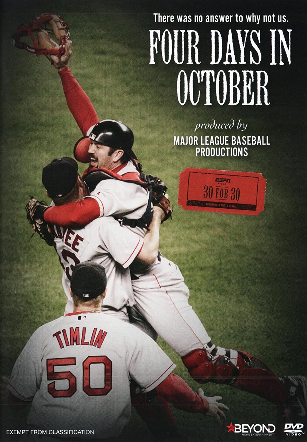 Amazon.com: ESPN 30 for 30 Four Days in October   NON-USA Format ...