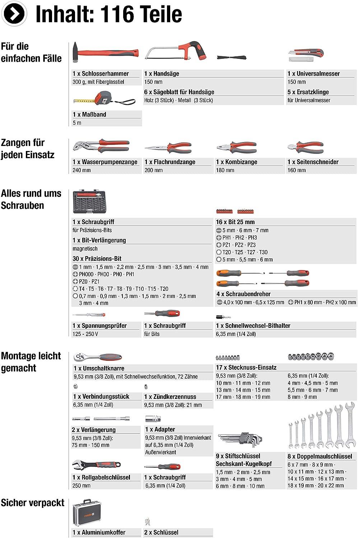 JM Steckschlüssel-Einsatz 6kant 1//4Zoll Stecknuss 13mm Motorrad