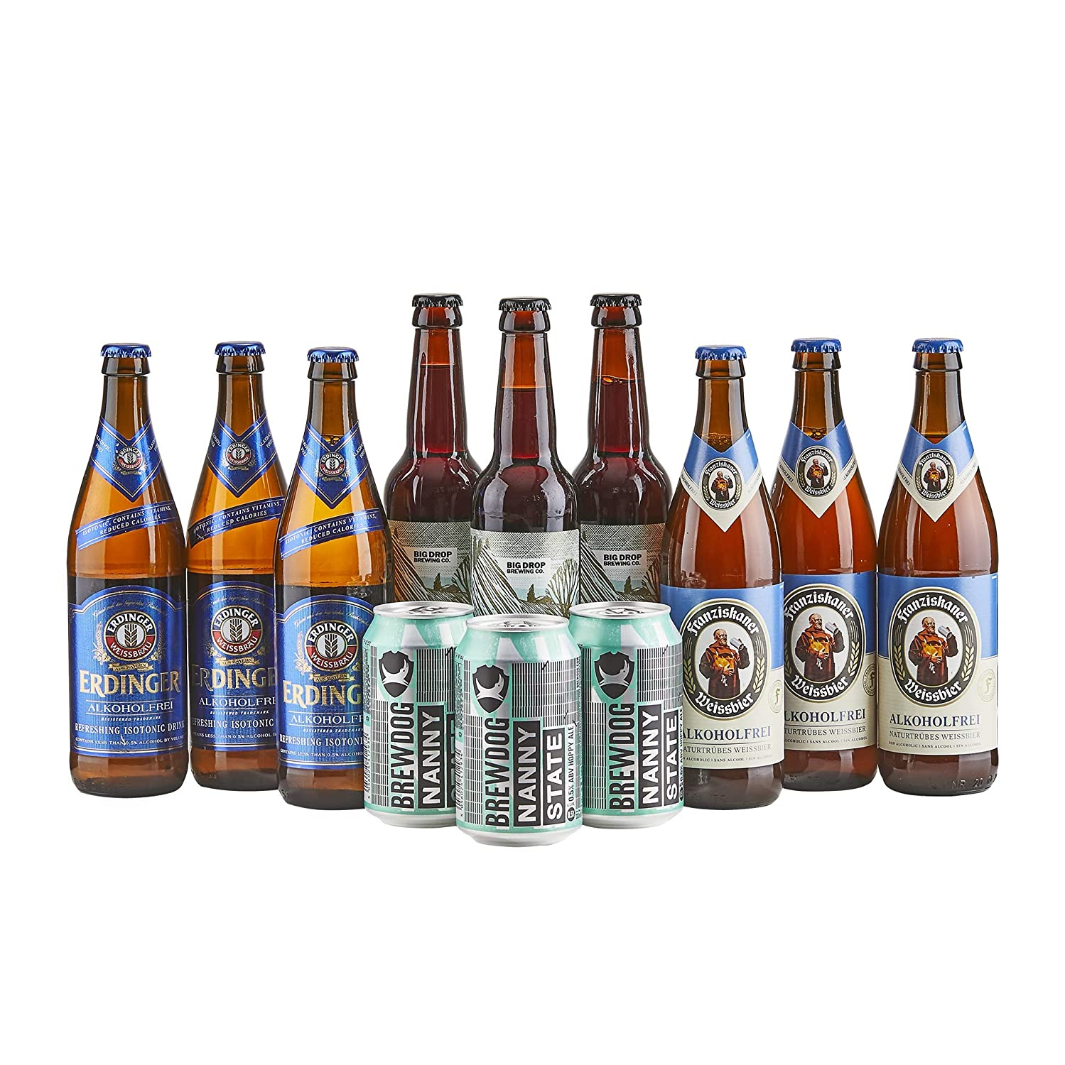 Beer Hawk Alcohol Free Beer Selection - 12 Non Alcoholic Craft Beer Mixed  Case  Amazon.co.uk  Grocery 3cd00d514