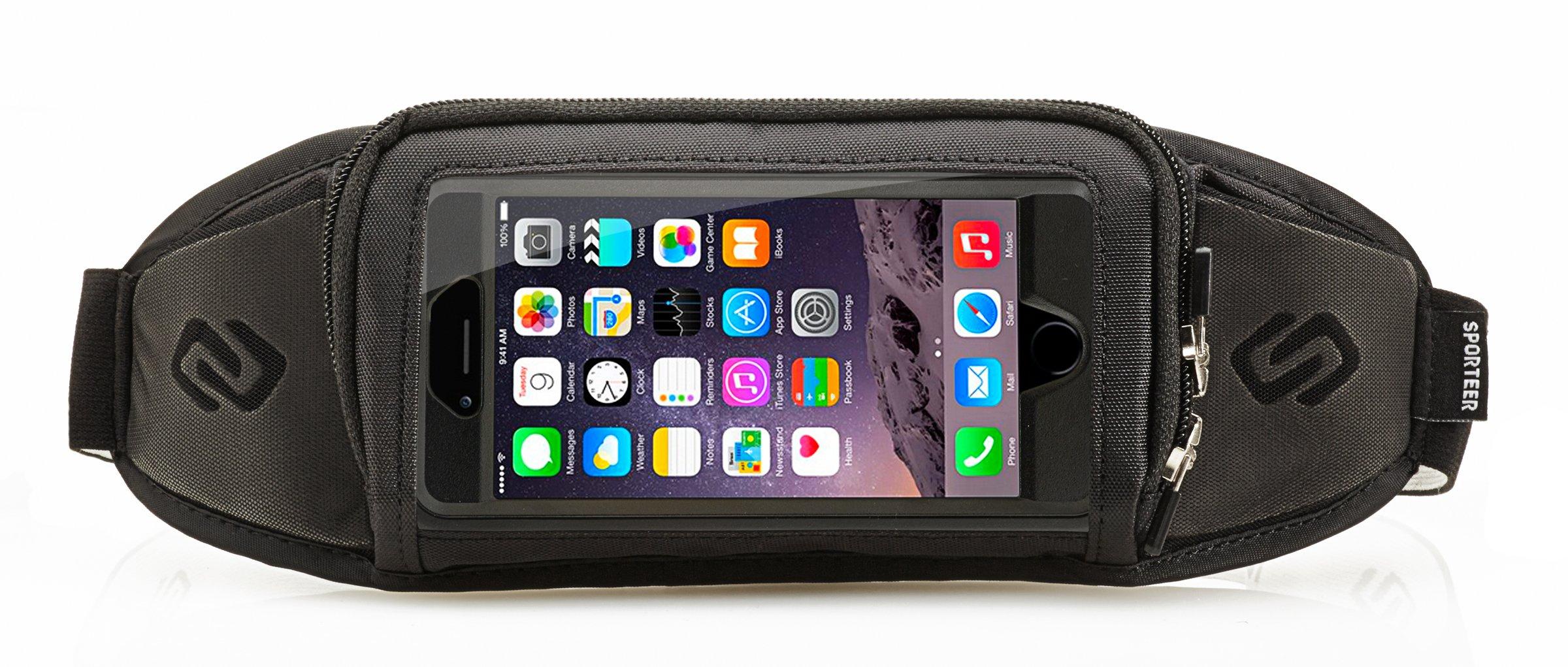 Sporteer Kinetic K1 Running Belt for iPhone XR
