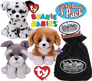 76e78a43ae7 Amazon.com  TY Beanie Babies - DOGS (Set of 6) (Brigitte