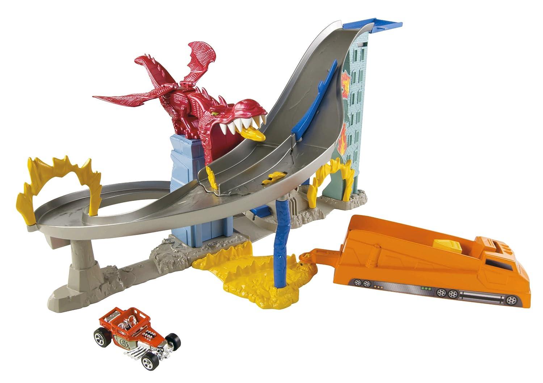Hot Wheels Dragon Destroyer Playset B009F7OVPE