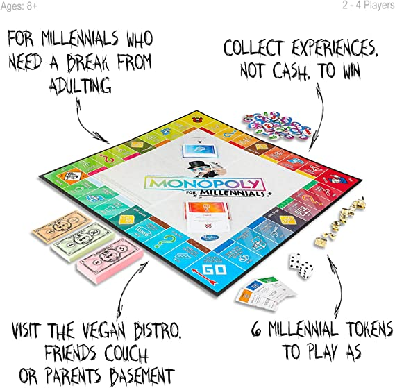 Hasbro Monopoly for Millennials: Amazon.es: Juguetes y juegos