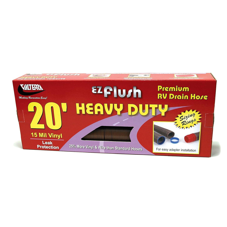 Valterra D04-0040 EZ Flush 20 Bronze Heavy Duty Drain Hose