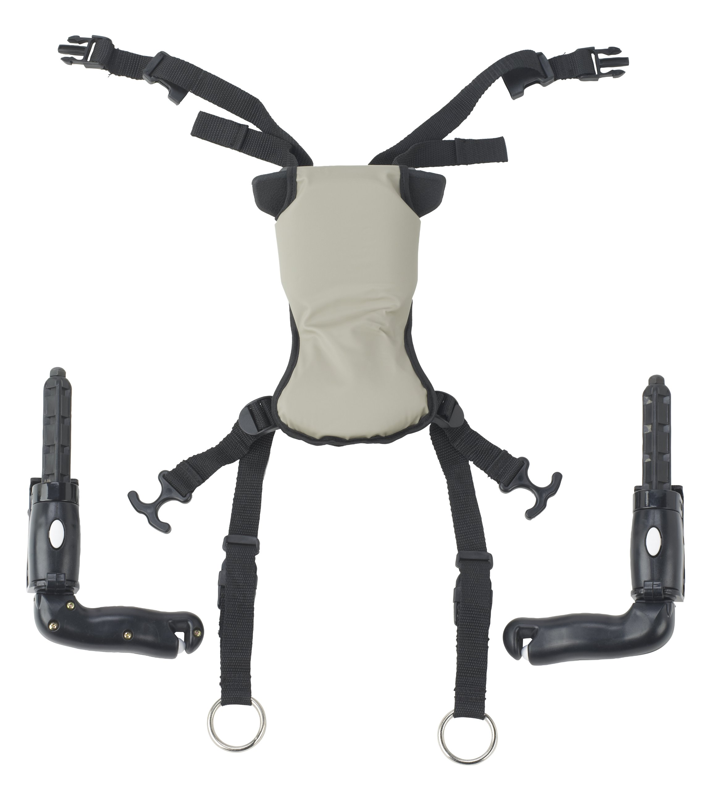 Drive Medical Trekker Gait Trainer Hip Positioner and Pad, Small