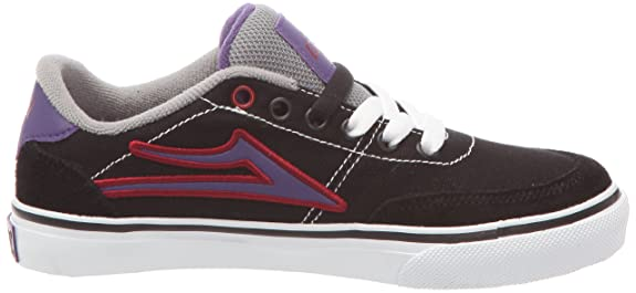 Lakai ENCINO KIDS KS1120203A00 - Zapatillas de cuero nobuck para hombre, color negro, talla 37