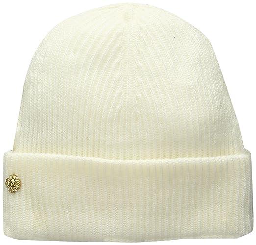 137ddf7e264 Amazon.com  Anne Klein AK Women s Fisherman Rib Cuff Hat