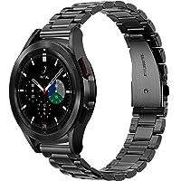 Diruite för Samsung Galaxy Watch 4 40 (44 mm)/Classic 42 (46 mm) armband, galvaniserat rostfritt stål metall ersättning…