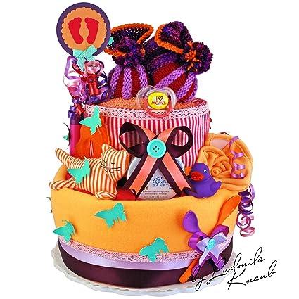 Pañales para tartas/PAMPERS Tarta > Baby regalo para chica ...