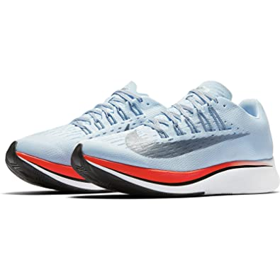 Nike Womens Zoom Fly Running Shoes(Blue/Crimson/White, 7.5 B(
