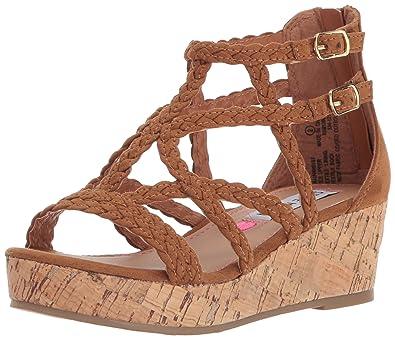 f32ca424dd0 Amazon.com | Steve Madden Kids' Janna Wedge Sandal | Sandals