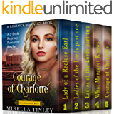 Courage of Charlotte: A 5-book Regency Romance Box Set (A Regency Romance Book) (Beau Monde of Bath)