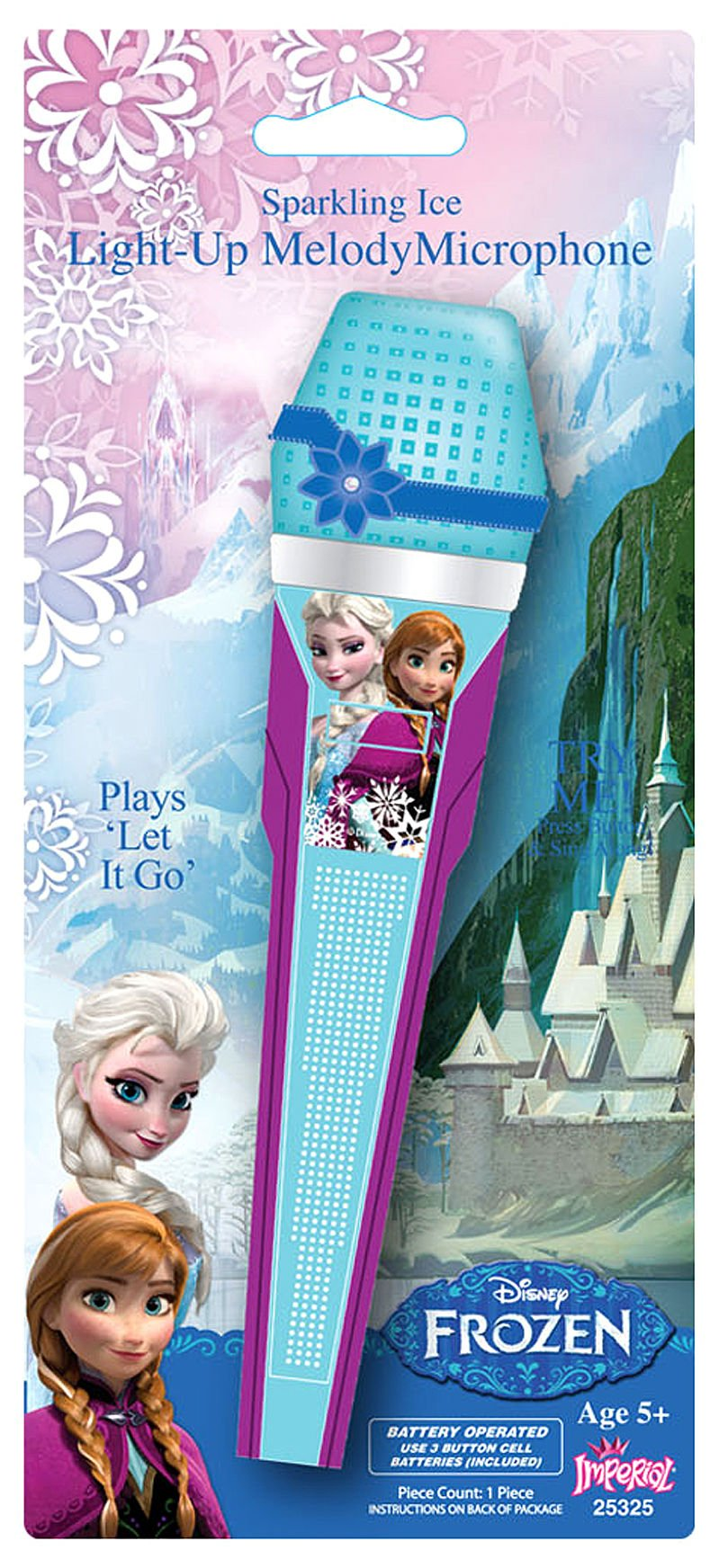 Disney Frozen Singing Light up Microphone