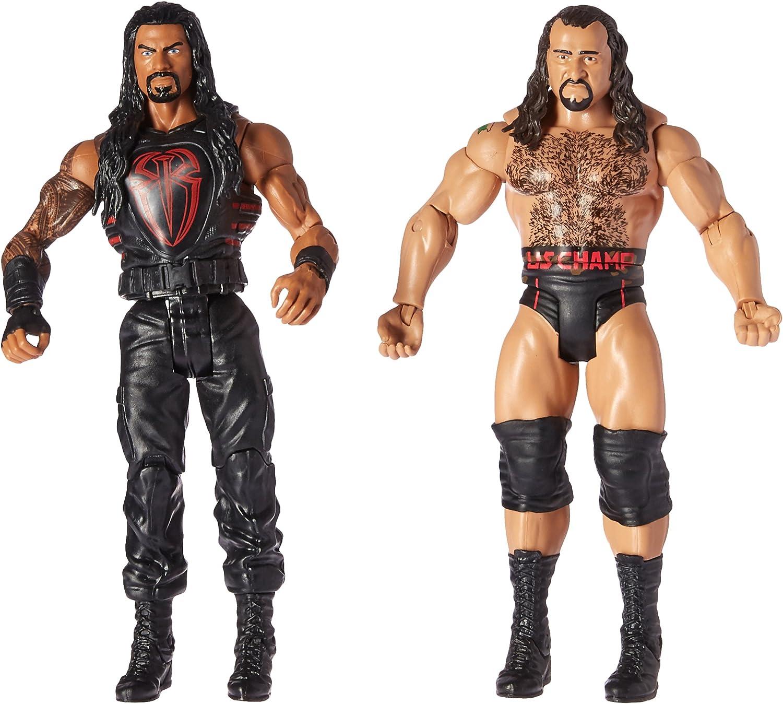 WWE Roman Reigns & Rusev Mattel Battle Pack Series 47: Amazon.es: Juguetes y juegos