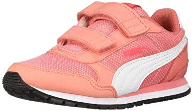 Puma Unisex ST Runner V2 MESH Kids Sneaker Velcro Closure c90862fb4