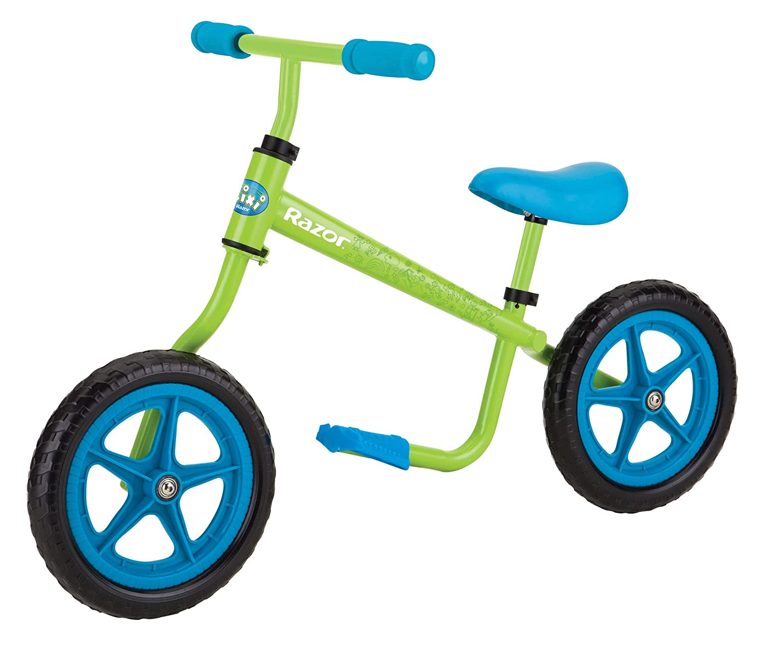 Razor Kixi Balance Bike, Blue/Green 15059630