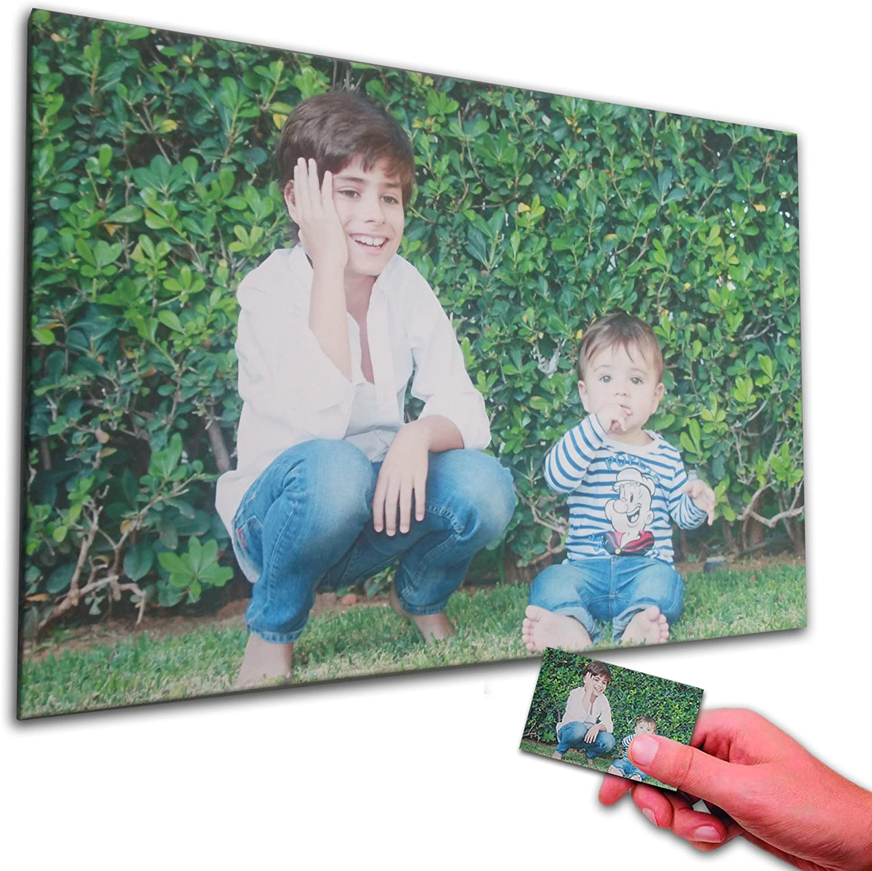 Oops ORIGINALOOPS.ES Cuadro Personalizado con tu Foto. Impresión en Foto Lienzo sobre Bastidor de 35mm (60x40)