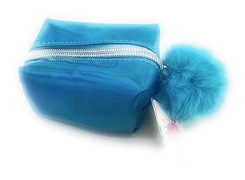 510c63e873b6 Amazon.com : 3C4G Girls Zippered Cosmetic Purse 6+ (Blue) : Beauty