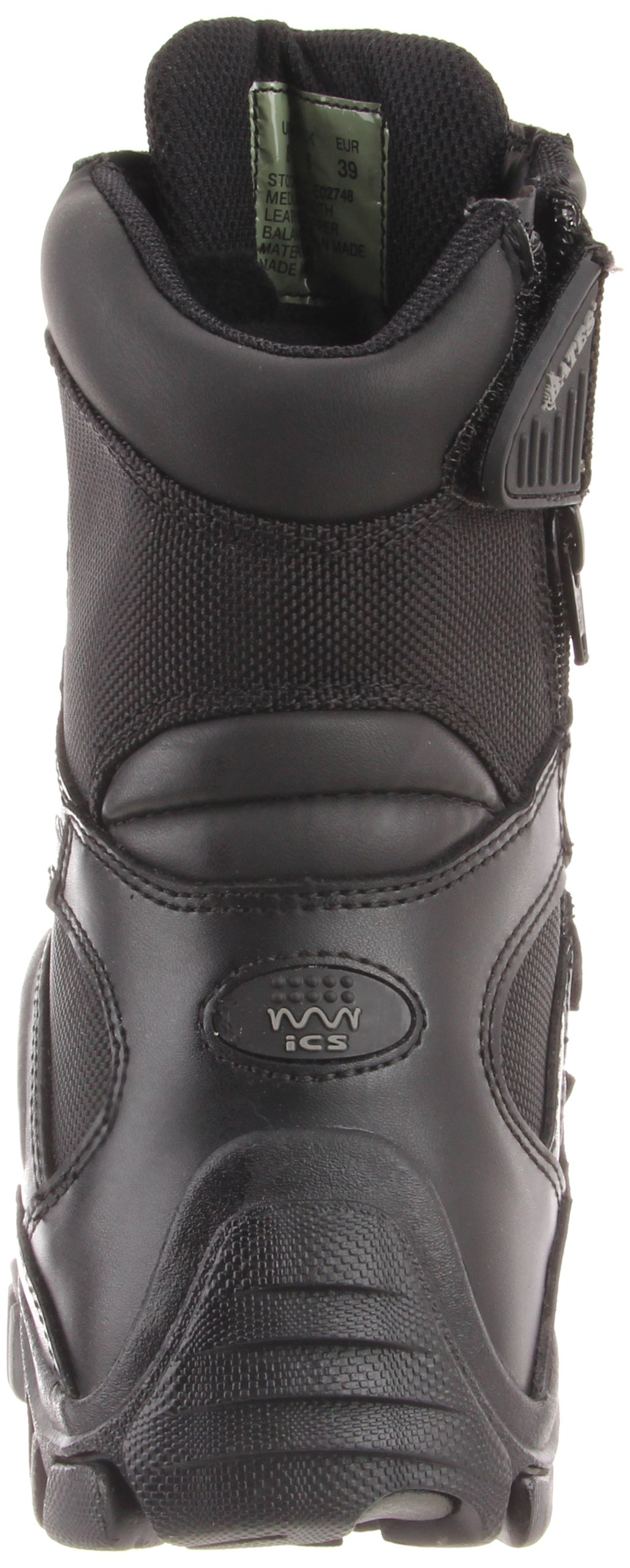 Bates Women's Delta 8 Inch Boot, Black, 8 M US by Bates (Image #2)