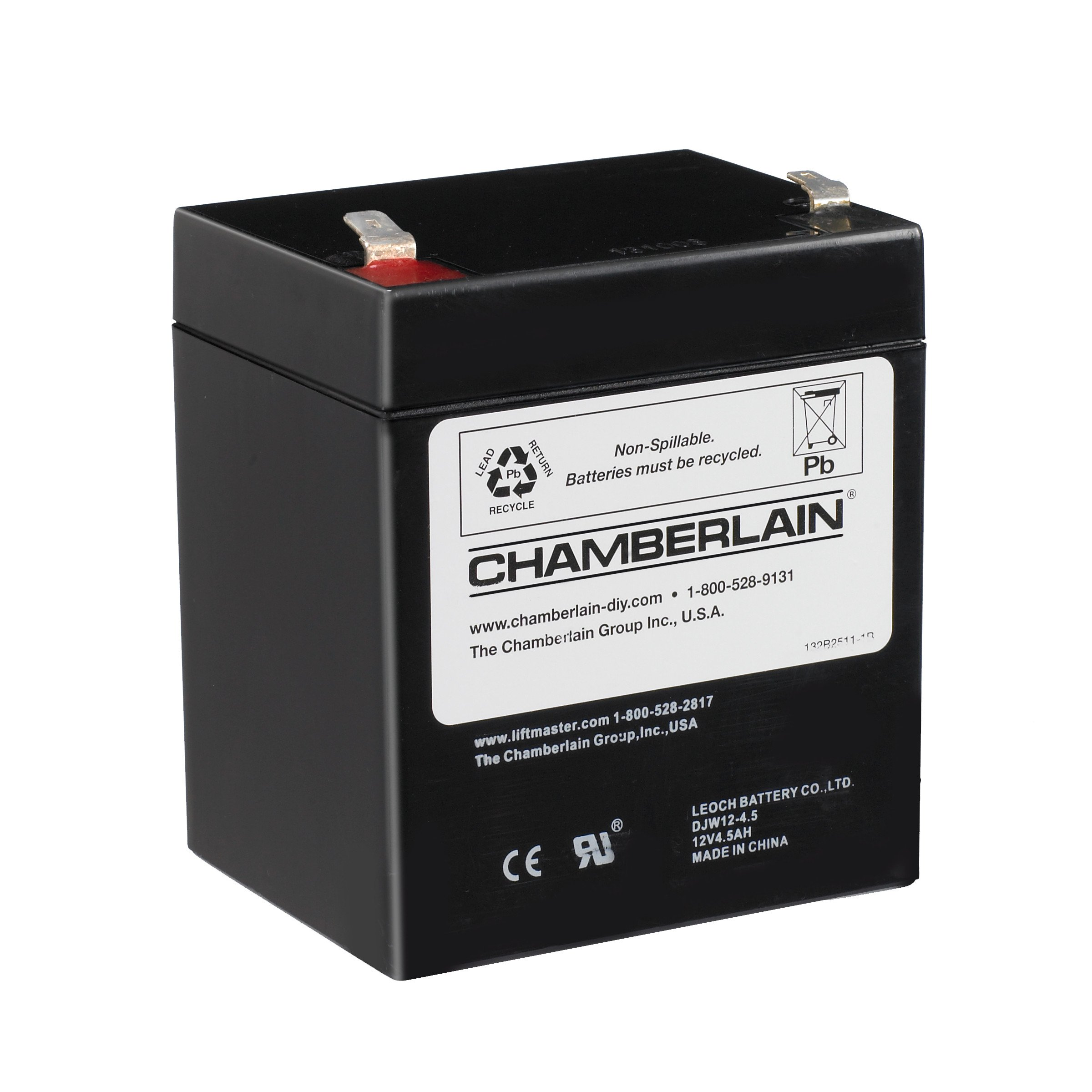 Chamberlain/LiftMaster/Craftsman 4228 Replacement Battery for Battery Backup Equipped Garage Door Openers