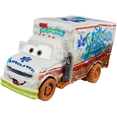 Disney Pixar Cars 3 Crazy 8 Crashers Dr. Damage Vehicle: Toys & Games