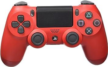 Sony - Dualshock 4 V2 Mando Inalámbrico, Color Rojo (Magma Red) (PS4): Sony: Amazon.es: Videojuegos