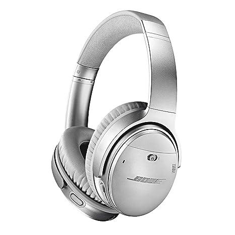 Bose ® QuietComfort 35 Wireless Kopfhörer II (mit Amazon Alexa), silber