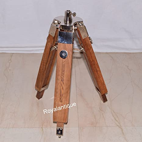 Nautical-Wooden-Tripod-Office-Desk-Floor-Lamp-Stand-timber-wood-stand-item
