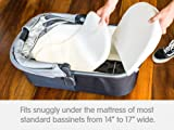 Bassinet Wedge Pillow for Infant and Newborn Babies | Baby Sleep Positioner for Acid Reflux | Baby Reflux Sleeper