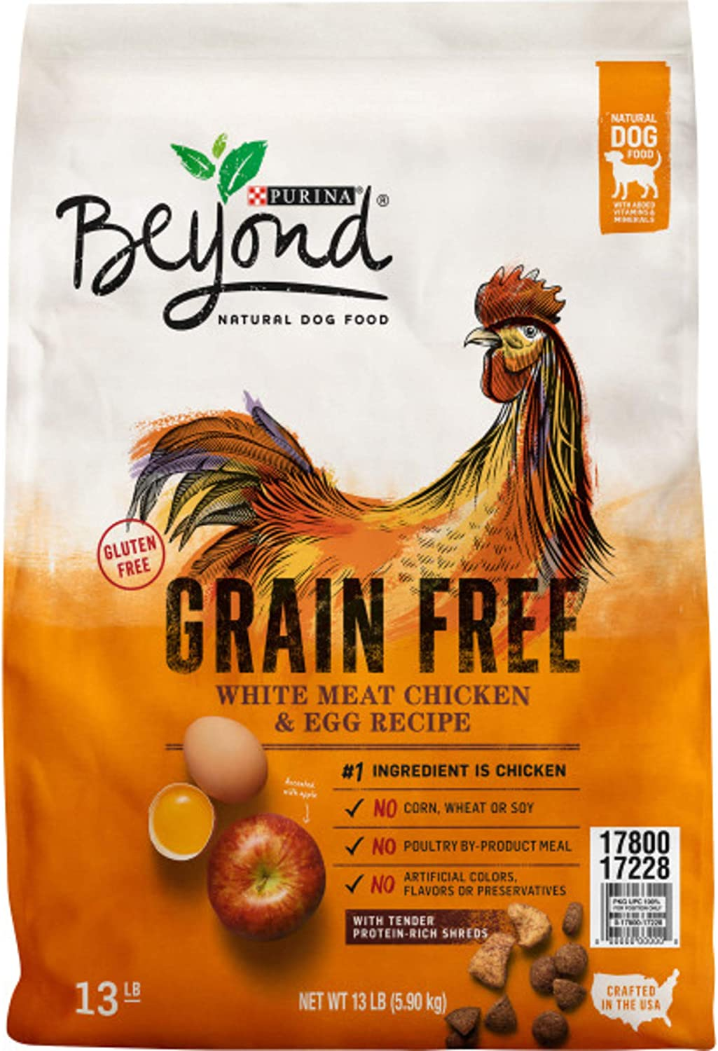 Purina Beyond Grain Free, Natural, Adult Dry Dog Food